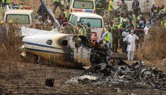 Rơi máy bay quân sự, 7 người thiệt mạng