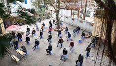 Hàng nghìn thanh niên Thủ đô lấy mẫu xét nghiệm Covid-19 trước ngày nhập ngũ