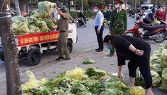 Chính quyền phường Mai Dịch đã làm gì số nông sản giải cứu?