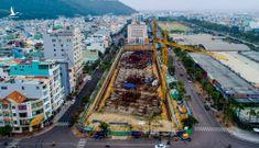 Công trình nghìn tỷ giữa phố xây không phép, lãnh đạo nói không biết
