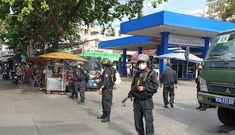 Nóng: Công an phong tỏa cây xăng ở Gò Vấp
