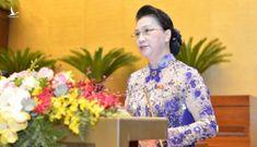 Chính thức miễn nhiệm Chủ tịch Quốc hội Nguyễn Thị Kim Ngân