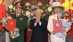 Nhiệm kỳ Chủ tịch nước Nguyễn Phú Trọng: Thăng hàm cho những ai?