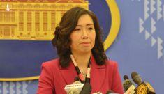 Việt Nam lên tiếng về việc Trung Quốc diễn tập ở Hoàng Sa