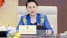 Cảm xúc của Chủ tịch Quốc hội Nguyễn Thị Kim Ngân cuối phiên họp Thường vụ Quốc hội