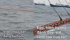 """Làm rõ chuyện ngư dân """"cầu cứu"""" cảnh sát biển trước sự xuất hiện của hai tàu cá Trung Quốc sát bờ biển Việt Nam"""