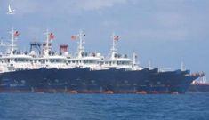 Trung Quốc nói hàng trăm 'tàu cá' tập trung ở đá Ba Đầu là 'tránh thời tiết xấu'