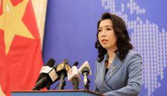 Bộ Ngoại giao: Diễn tập của Trung Quốc tại đảo Trí Tôn là vi phạm chủ quyền Việt Nam