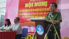 Đại tá Nguyễn Sỹ Quang được 100% cử tri giới thiệu ứng cử đại biểu Quốc hội