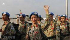 Chào mừng các quân nhân Việt Nam trở về an toàn từ Cộng hòa Nam Sudan