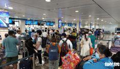 Sân bay Tân Sơn Nhất mở 100% cửa soi chiếu, khách đi lại thông thoáng
