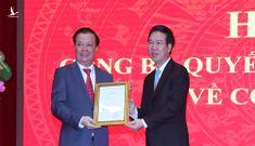 Chùm ảnh: Công bố quyết định đồng chí Đinh Tiến Dũng làm Bí thư Thành ủy Hà Nội