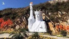 Tượng nữ thần tự do 'phiên bản lỗi' ở Sa Pa chưa được cấp phép