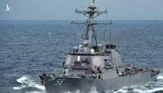 Ở biển Đông chưa lâu, Mỹ đã xem xét điều tàu chiến đến Biển Đen