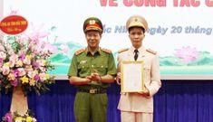 Chân dung 1 trong 2 Giám đốc công an tỉnh trẻ nhất nước mới được bổ nhiệm