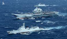 Tàu sân bay TQ lộ điểm yếu chết người khi tập trận gần Đài Loan?