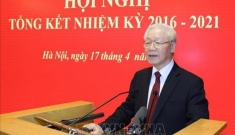 Tổng Bí thư Nguyễn Phú Trọng: Hội đồng Lý luận T.Ư tiếp tục phấn đấu hoàn thành nhiệm vụ trong giai đoạn mới