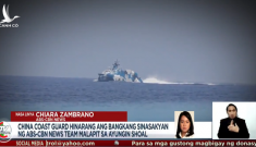 Tàu tên lửa Trung Quốc rượt tàu của Philippines trên Biển Đông