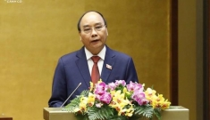 Chủ tịch nước Nguyễn Xuân Phúc kêu gọi các nước đoàn kết tại Diễn đàn Bác Ngao