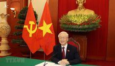 Tổng bí thư Nguyễn Phú Trọng mời Tổng thống Putin sang thăm Việt Nam