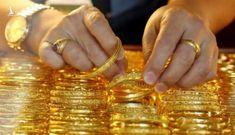 Giá vàng 1/4: Giá vàng bất ngờ tăng mạnh sau khi chạm đáy
