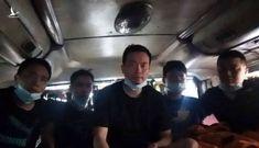 5 người Trung Quốc nấp trong thùng carton đi từ Bắc Giang vào TP HCM