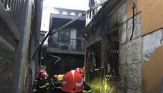 Hiện trường bên trong căn nhà cháy làm 8 người thiệt mạng