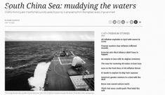 Chuyên gia thân Trung Quốc liên tục 'lên gân' về Biển Đông