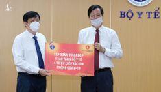 Tập đoàn Vingroup tài trợ 4 triệu liều vaccine Covid-19