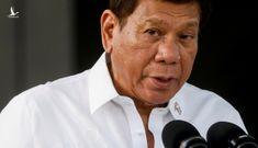 Ông Duterte nói không lùi bước ở Biển Đông dù chết dưới tay Trung Quốc