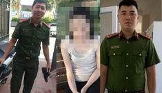 Hai chiến sĩ công an kịp thời cứu người phụ nữ nhảy xuống hồ Tây