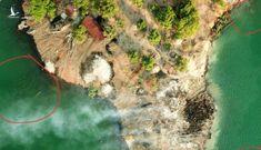 Vụ gỗ lậu dưới sông: Hiện trường bị đốt cháy ngùn ngụt, báo cáo lạ của cán bộ huyện