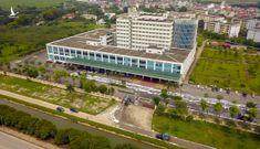 Dàn xe đặc chủng khử trùng Bệnh viện Bệnh Nhiệt đới Trung ương