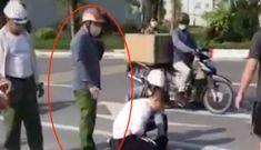Đại úy công an tường trình gì sau vụ đứng nhìn tài xế vật lộn với cướp?