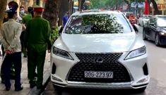 Đỗ xe Lexus trái phép, tài xế thách thức 'biết xe của ai không mà cẩu'