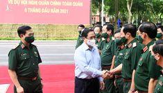 Thủ tướng tham dự Hội nghị Quân chính toàn quân 6 tháng đầu năm 2021
