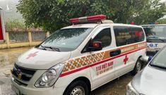 Xe cứu thương nhồi nhét người né chốt kiểm dịch từ Bắc Ninh về Sơn La