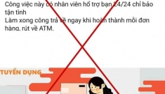 """Công an Hà Nội cảnh báo """"nóng"""" về ứng dụng """"giật"""" đơn hàng online"""