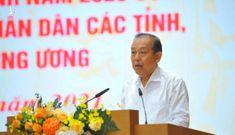PTT. Trương Hòa Bình: Số người dân phải 'bôi trơn' khi làm thủ tục tăng
