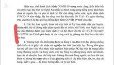 Nguyên nhân quyền Giám đốc sở Y tế Hà Tĩnh ký văn bản trái thẩm quyền