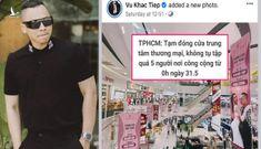 Dân mạng réo gọi 'đại sứ cách ly' Vũ Khắc Tiệp khi TP.HCM giãn cách xã hội