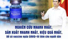 Thủ tướng: Tạo mọi điều kiện sản xuất bằng được vaccine chống Covid-19