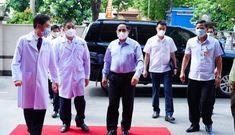 Sáng nay, Thủ tướng Phạm Minh Chính đến thị sát Công ty sản xuất vaccine Nanogen