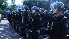 Bộ Công an chi viện quân số cho Bình Dương chống dịch COVID-19