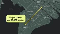Cao tốc Cần Thơ – Cà Mau có phương án đi thẳng