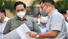 Thủ tướng Phạm Minh Chính trực tiếp vào tâm dịch tại TP.HCM