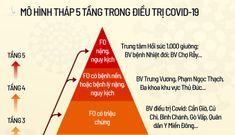 TP HCM nâng mô hình điều trị Covid-19 lên 5 tầng
