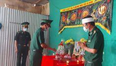 Xót xa sĩ quan biên phòng chịu tang cha tại chốt kiểm dịch