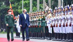Bộ trưởng Quốc phòng Việt – Anh bàn hợp tác quân sự, chống COVID-19