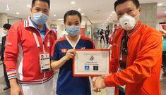 Nguyễn Thuỳ Linh được thưởng nóng 20 triệu đồng sau khi đánh bại tay vợt gốc Trung Quốc